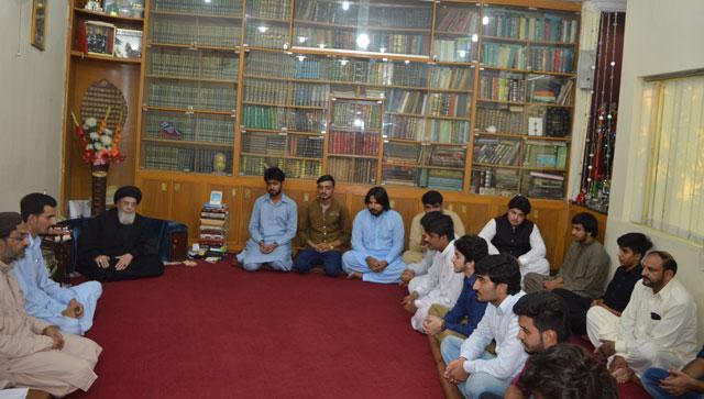 شیعہ طلباء کی قائد سے ملاقات