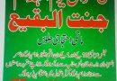 راولپنڈی میں یوم انہدام جنت البقیع پر تاریخی ماتمی احتجاج ہوگا