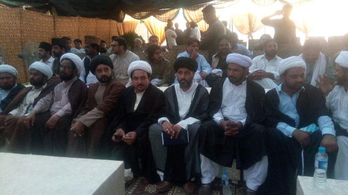 مختلف شیعہ مدارس کے علماء نے بھی کانفرنس میں بھر پور شرکت کی ۔