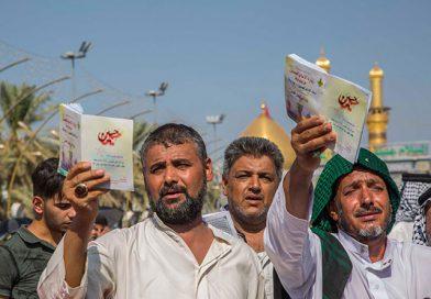 اللہ اپنے زائر سے پہلے حسینؑ کے زائر پر نگاہ کرتا ہے ،یوم عرفہ پرکربلا میں لاکھوں زائرین کا اجتماع