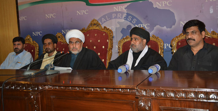 آٹھ وگیارہ محرم کو تعطیل کا اعلان کیا جائے،علامہ حافظ تصدق کے اسلام آباد داخلے پر پابندی ختم کی جائے،ٹی این ایف جے