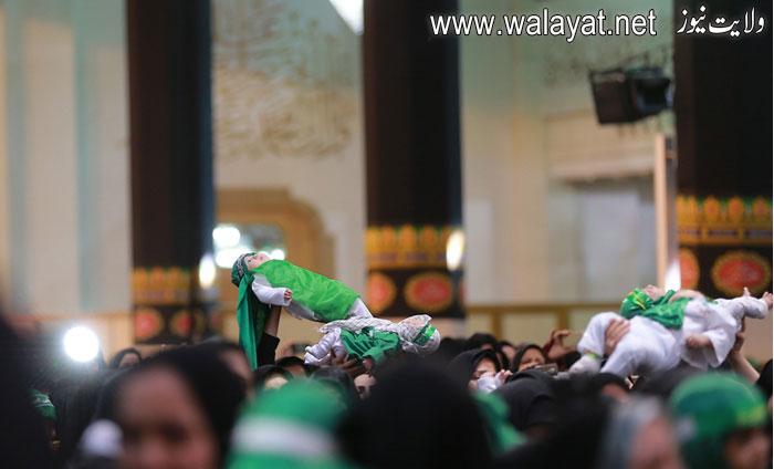 """ایران: محرم کا پہلا جمعہ """"یوم شہزادہ علی اصغرؑ"""" کے طور پر منایا گیا"""