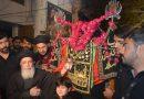 ختم نبوت ؐ کے تحفظ کیلئے سب سے موثراحتجاج عزاداری ہے جس کی بنیاد سیدہ زینب و سجاد ؑ نے رکھی،آغا حامد موسوی