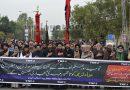 جلاؤ گھیراؤ کے باوجود اسلام آباد میں ٹی این ایف جے کے زیر اہتمام ماتمی پرسے میں ہزاروں عزاداروں کی شرکت