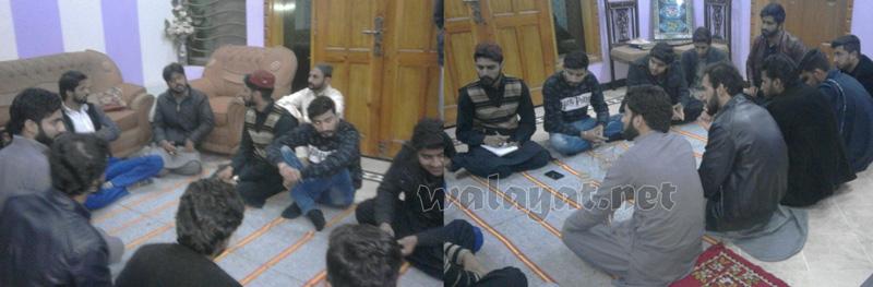 مختار سٹوڈنٹس آرگنائزیشن ضلع راولپنڈی کی کابینہ کا اجلاس