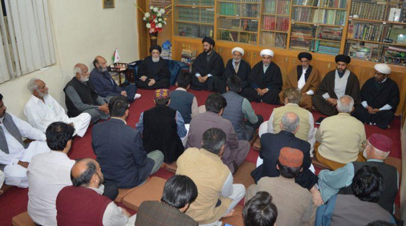 آئین کو توڑا مروڑانہ جاتا تو ملک بحرانوں کا شکار نہ ہوتا خانوادہ رسالت ؐ نے اپنے سرکٹا کر کنبے لٹوا کر آئین اسلام کی حفاظت کی،آغا حامد موسوی