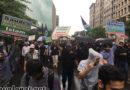 واشنگٹن: بقیع ریلی میں آسمان بھی روتا رہا؛قبر زہراؑ کی بحالی کیلئے تاریخی مارچ