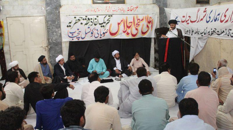 لاہور و ڈیرہ غازی خان میں ٹی این ایف جے کے اجلاس ؛ عزاداروں کو درپیش مسائل کا جائزہ، آقا ئے موسوی کی پالیسی پر لبیک کہنے کا عہد
