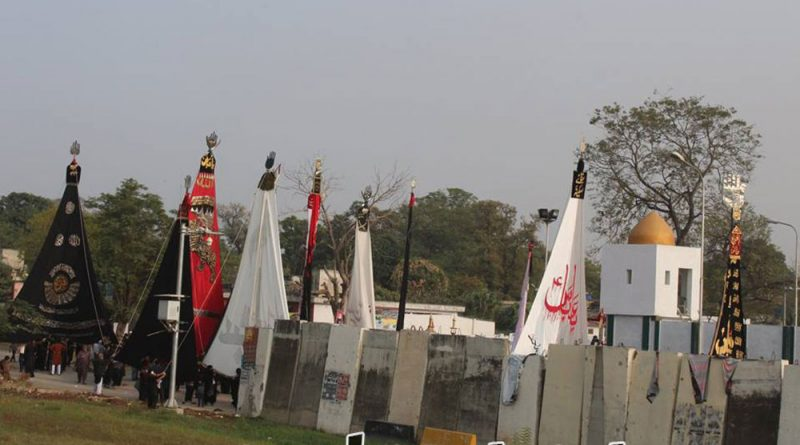 وفاقی دارالحکومت میں چہلم شہدائے کربلا کے مرکزی جلوس کی برآمدگی،ہزاروں سوگواران کی شرکت