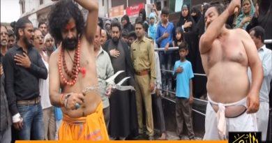 ہندو سوامی کی زنجیرزنی