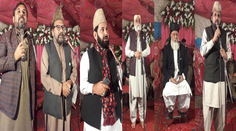گڑھی شاہو لاہور میں ہفتہ وحدت و اخوت کی محفل میلاد