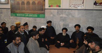 شہدائے حسینی محاذ کی تقریب سے قائد ملت جعفریہ آقائے موسوی کا خطاب