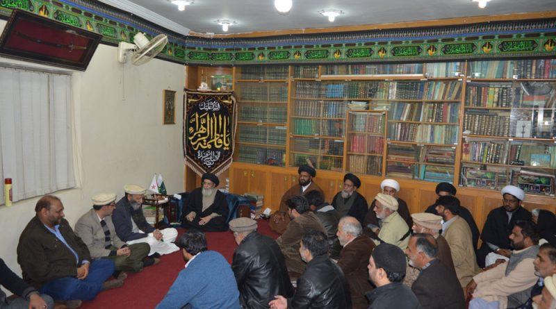 یوم حق خود ارادیت کشمیر پر قائد ملت جعفریہ آغا حامد موسوی کا خطاب