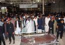 علامہ وقار تقوی وادی حسین میں سپردخاک، نماز جنازہ میں ہزاروں افراد کی شرکت؛ رحلت ناقابل تلافی نقصان ہے،آقائے موسوی