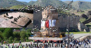 ترک شہزادے کا دوڑتا مقبرہ اور منہدم جنت البقیع۔۔۔دردناک رپورٹ