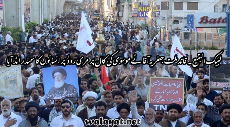 جنت البقیع کی مسماری کے خلاف ٹی این ایف جے کے ملین مارچ میں لاکھوں افراد کی شرکت