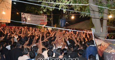 عزائے امام موسی کاظم ؑ میں ہزاروں افراد کی شرکت