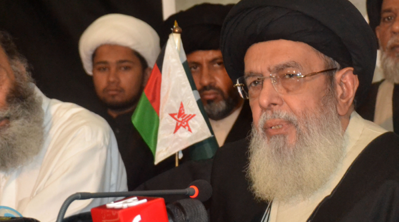قائد ملت جعفریہ آغا حامد موسوی کا ردعمل