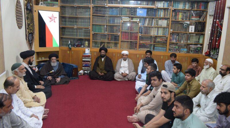 """قومی اسمبلی و سینیٹ، کے پی اور بلوچستان بھی جنت البقیع کی تعمیر نو کیلئے قراردادیں پاس کریں ، آغا حامد موسوی ؛""""عالمی ایام ضامنؑ""""منانے کااعلان"""
