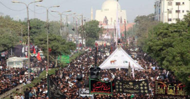 چہلم شہدائے کربلا اربعین حسینی ؑ عقیدت و احترام کے ساتھ منایا گیا،شہر شہر جلوسوں و مجالس عزا کا انعقاد، عزاداروں کا ماتم زنجیر و قمہ زنی