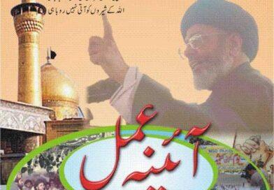 آئینہ عمل – قائد ملت جعفریہ آغا سید حامد علی شاہ  موسوی کی جراتمند اور آبرو مندانہ قیادت اور کامیابیوں  کی ایک جھلک (قسط نمبر 1)
