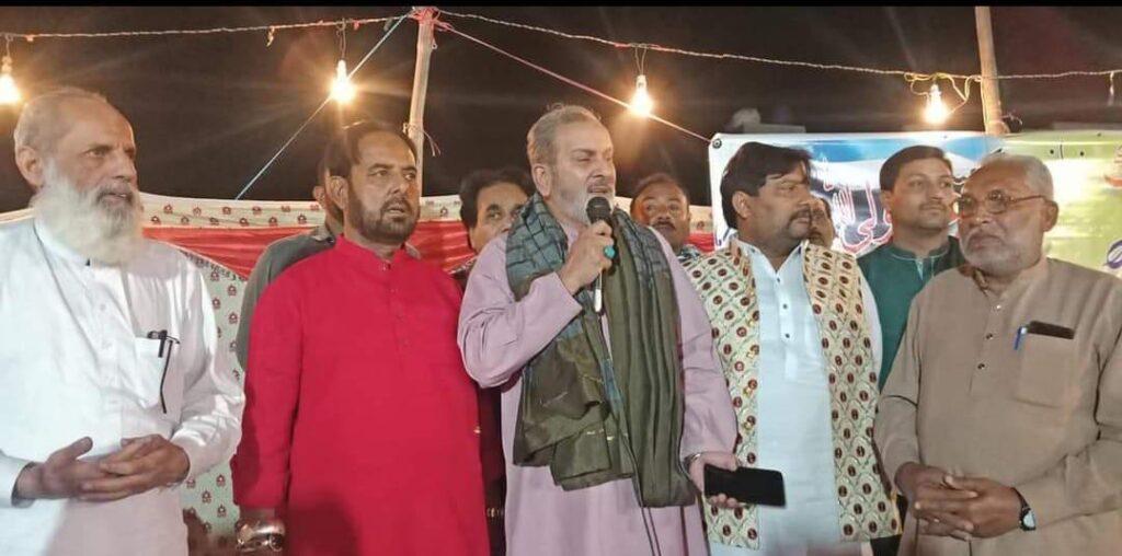 انجینئر قمر حسنین نقوی کا تبلیغ ماتم شبیرؑ کی جانب سے منعقدہ جشن میں خطاب