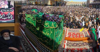کاظمین اجتماع شیطنت کے منہ پر طمانچہ ہے،امریکہ عالم اسلام میں کبھی امن قائم نہیں ہونے دے گا، قائد ملت جعفریہ آغا حامد موسوی
