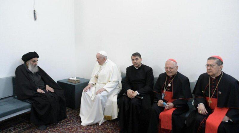 سیستانی اور پوپ کی ملاقات