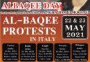 رومی تہذیب کے مرکز اٹلی میں 5 مقامات پر جنت البقیع کی مسماری کے خلاف احتجاج