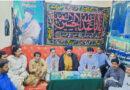لاڑکانہ : صوبائی صدر ٹی این ایف جے کا دورہ ، عالمگیر یوم انہدام جنت البقیع کے پروگرام کو حتمی شکل دے دی گئی