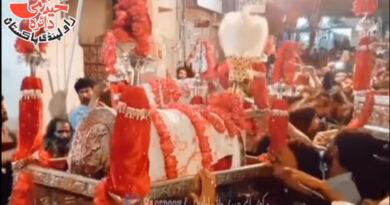 یوم سفیر حسینیت ؑ: دربار بی بی پاکدامن کی بندش کے باوجود لا تعداد عزادار اور ماتمی دستے مولا علیؑ کی دختر کو پرسہ دینے لاہور پہنچ گئے